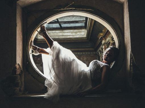 Justyna i Karol | Sesja ślubna w Pałacu w Krowiarkach