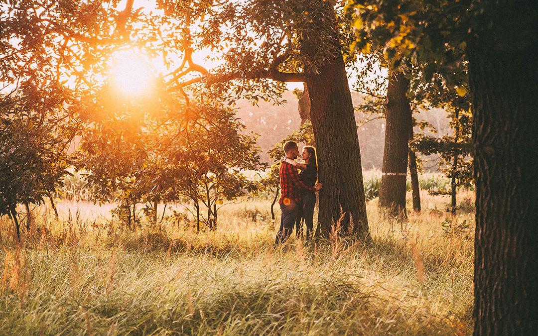 Ania i Bartek | Sesja narzeczeńska w Lesie